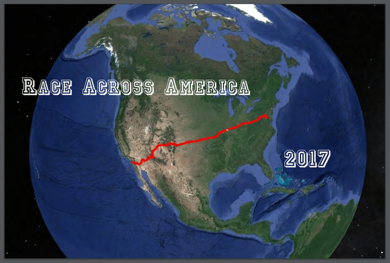 Race across America 2017 RAAM Ultracycling USA Amerika Strecke Team Patric Grüner - Mentalcoach Michael Deutschmann - Mentalcoaching Hypnose Seminare - Mental Austria - Ötztal Tirol - Erfolg Success