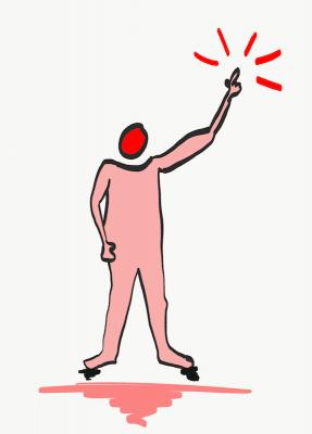 Demotivierte Mitarbeiter zeigen etwas auf - Mitarbeitermotivation für Fortgeschrittene - Mentalcoach Michael Deutschmann - Mentalcoaching Hypnose Seminare - Mental Austria