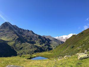 Bergsee Ramolweg - Obergurgl Ötztal Ötztaler Alpen Bergwelt Hängebrücke Stahlseilhängebrücke - Mentalcoach Michael Deutschmann - Mentalcoaching Hypnose Seminare
