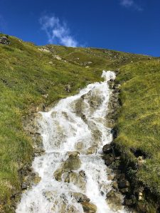 Gletscherbach - Obergurgl Ötztal Ötztaler Alpen Bergwelt Hängebrücke Stahlseilhängebrücke - Mentalcoach Michael Deutschmann - Mentalcoaching Hypnose Seminare